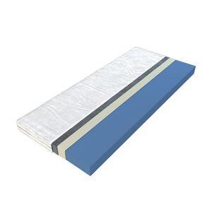 CasaDolce Matratze PROVIDENCE PLUS, 80x190, H1-Härte,  Blau, Weiß