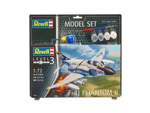 Revell Model Set F-4J Phantom II - Flugzeug-Modellbausatz; 63941