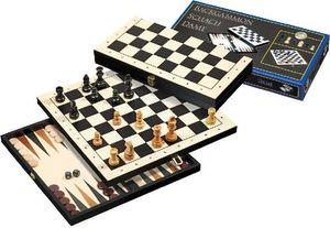 Reise-Schach-Backgammon-Dame