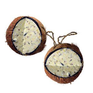 3 x 4 Stk. Lyra Pet® Ganze Kokosnuss V-Cut gefült