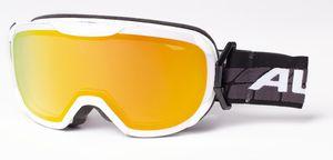 ALPINA Skibrille PHEOS S R white black One Size A7250814 MM Orange S2 M40