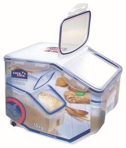 Lock & Lock Multifunktionsbox (Vorratsbox, Vorratsdose) Kitchen-Caddys mit Entnahmeklappe 12,0 Liter