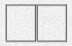Noris Spiele Malen nach Zahlen - Alurahmen Dipty. Silber 50 x 80 cm; 605280765