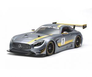 Tamiya Karosserie Satz + Dekor 1:10 RC Mercedes AMG GT3