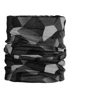 ARECO Multifunktionstuch grau -