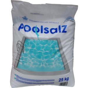Schwimmbad Salz Poolsalz 25kg Wasserpflege Natursalz Salz Schwimmbadpflege
