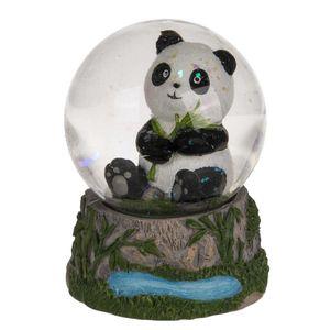 Schüttelkugel Sitzender Panda 6 cm
