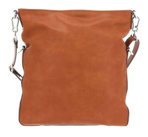 ESPRIT Basic Flip Over Shoulder Bag Rust Brown
