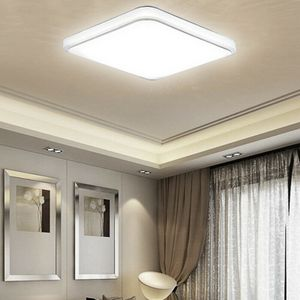 12W LED Deckenleuchte Badleuchte Küche Acryl Deckenlampe Wohnzimmer Leuchte Küche Balkon Flur@#