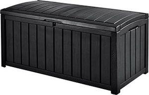 Keter Glenwood Deck Box, Aufbewahrungstasche, Graphit, Rechteckig, Einfarbig, Universal, Graphit