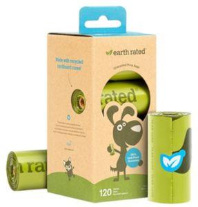 Hundekotbeutel Set Earth Rated 120 Stück - Kotbeutel Geruchsneutral