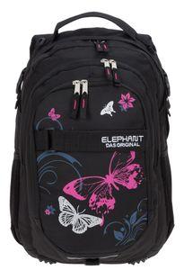 Schulrucksack Mädchen Elephant Hero Signature Rucksack Schulmappe 12679 Butterfly Pink