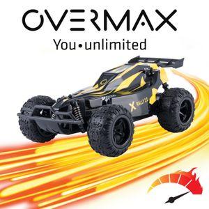 Overmax Rally 2.0 RC Auto Ferngesteuertes Fahrzeug 1:22 Off-Road Fernbedienung Racing 25km/h bis 100m