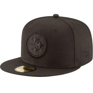 New Era 59Fifty Cap - NFL BLACK Pittsburgh Steelers