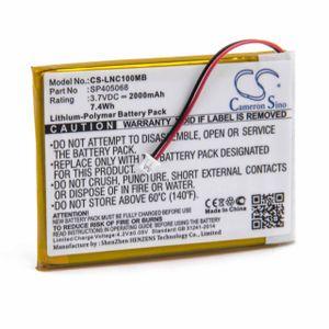 vhbw Akku Ersatz für Luvion SP405068 für Babyphone Babytalker (2000mAh, 3,7V, Li-Polymer)