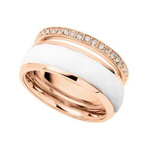 Fossil JF01123 Damen Ring rosé Glasstein 56 (17.8)