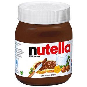 Nutella Haselnuss Nougat Creme Brotaufstrich nussig schokoladig 450g