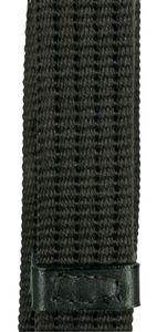 Gurtzügel mit Stegen Full/Warmblut-schwarz