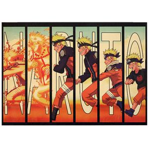 Naruto Wandaufkleber Anime Manga Riesen Poster Kunstdruck -