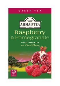 Ahmad Tea- Raspberry & Pomegranate 40g, 20 Beutel