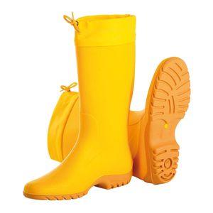 Giallo PVC-Damen-Stiefel Gr. 39, Gummistiefel, gelb