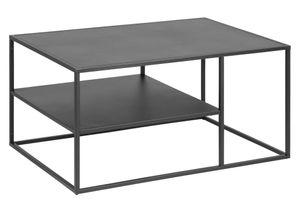 Couchtisch Virame Wohnzimmertisch Tisch Beistelltisch Stahl schwarz