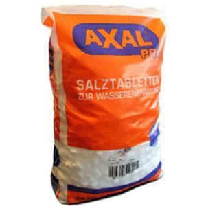 Axal Pro 25kg Salztabletten Regeneriersalz Tabletten-Form Wasserenthärtungsanlagen Pools test lang