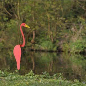 Flamingo Wind  Swirl Vogel Flamingo Windspiele für Outdoor Hof Hinterhof Dekoration Strand Sommer Garten rot 17,7 Zoll Flamingo Wind Spinner Wirbel Vogel