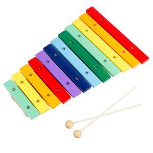 12 tasten töne holz xylophon klavier schillern schlaginstrumente für kleinkinder kinder kinder vorschule lernspielzeug mit schlägeln