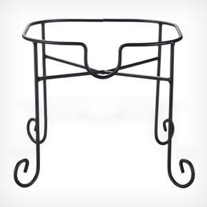 Getränkespender-Ständer bis 8 Liter 22,5 x 22,5 cm Schwarz