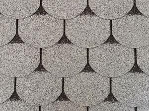 Isolbau Dachschindeln 3 m2 Biberschindeln Grau (21 Stk) Schindeln Dachpappe Bitumen