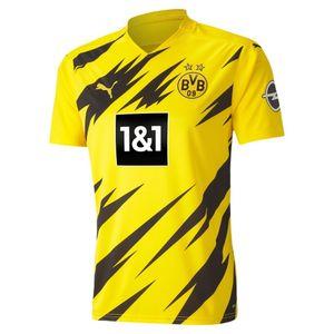 PUMA BVB HOME Shirt Replica SS CYBER YELLOW-PUMA BLACK L
