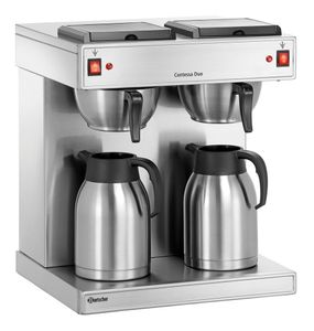 Bartscher Doppel-Kaffeemaschine Contessa Duo 190156