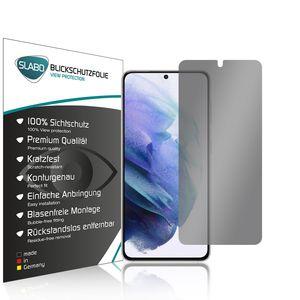 """Slabo Blickschutzfolie für Samsung Galaxy S21 (5G) (1er Set) SCHWARZ """"View Protection"""" (verkleinerte Folien) Displayfolie Schutzfolie Folie"""
