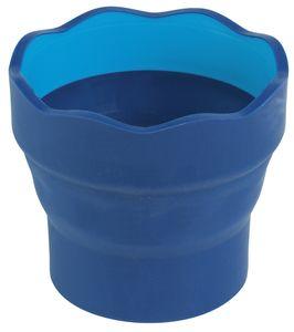 FABER-CASTELL Wasserbecher CLIC & GO blau