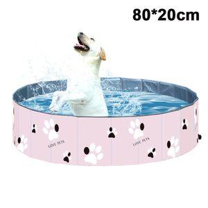 Delux Hundepool , 80x20cm, pink