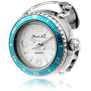 Ringuhr - in Ice Watch Look -  Türkis