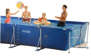 Intex Rectangular Frame Pool - Aufstellpool - 450 x 220 x 84 cm