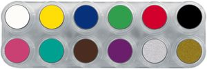 Water Make-up Palette 12 A