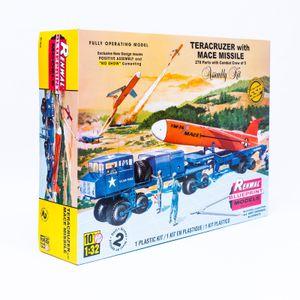 Revell Modellbausatz Monogramm Teracruzer mit Raketenmodell aus Druckguss 1:32
