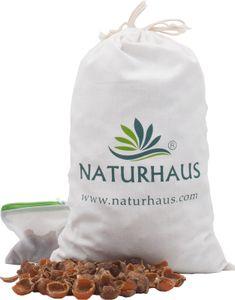 NATURHAUS Waschnuss Schalen im Baumwollsäckchen 1 kg
