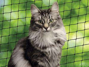 Nobby Katzenschutznetz, schwarz, M   4 x 3 m; 80106