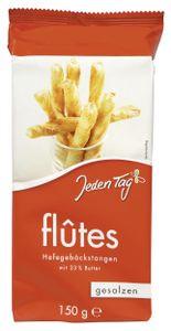 Jeden Tag Flûtes Hefegebäckstangen gesalzen (150 g)