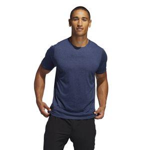 adidas Performance Herren Sport-Shirt FREELIFT_SPORT ULTIMATE HEATHER TEE blau, Größe:XL