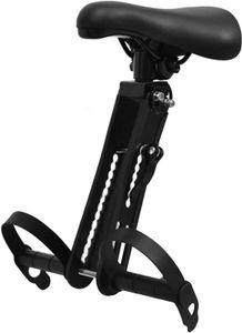 Kinderfahrradsitz für die Meisten Fahrräder Tragbare Abnehmbare Fahrradsitze Vorne für Kinder von 2-5 Jahren(schwarz)