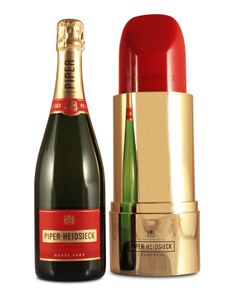 Piper Heidsieck Brut Cuvee Lipstick Ltd. Edition - Valentinstags Geschenk - 750ml
