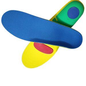 Orthopädische Schuheinlagen Einlagen Plattfüße Fersenschutz Fußbett Schuh einfügen L Blau