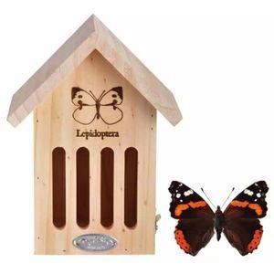 Esschert Design Schmetterlinghaus mit Silhouette; WA39