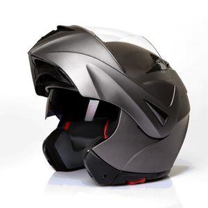 Klapphelm Integralhelm Motorradhelm CMX Prometheus matt grau,titan : XL