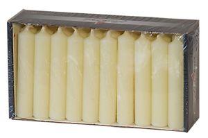 Gebr. Steinhart 30er Pack Pyramidenkerzen, Champagner, HxB 7,5 x 1,4 cm